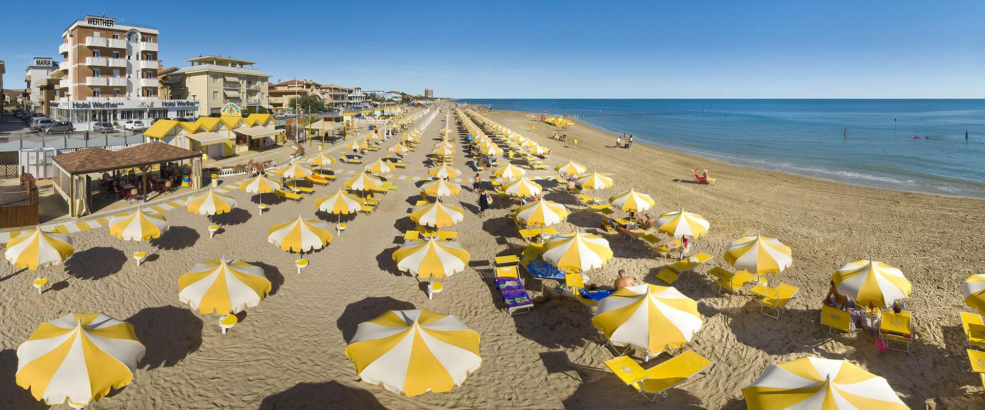 Hotel on the Adriatic Sea